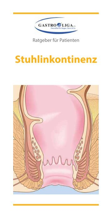 Stuhlinkontinenz - Gastro Liga