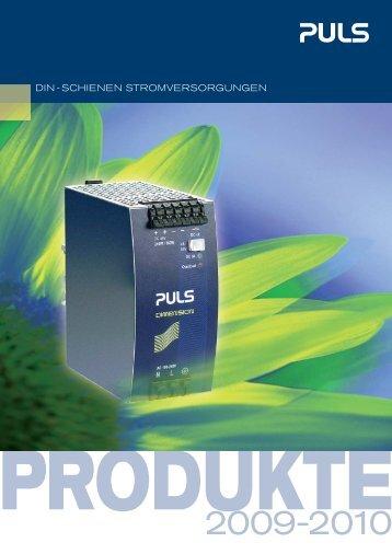 3 Netzgeräte für das 1-Phasen-Netz 24V 196W - PULS GmbH