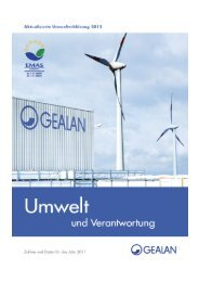Umwelterklärung 2012(PDF) - Gealan