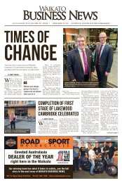 Waikato Business News July/August 2018