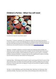 children's party food platters
