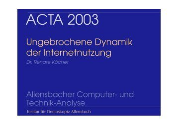 ACTA 2003