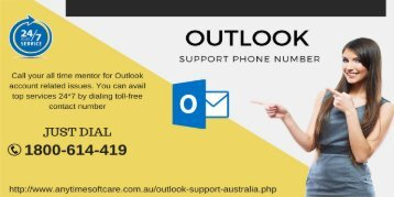 Sluggish or crashing Outlook | Dial 1800614419 Outlook Support Phone Number