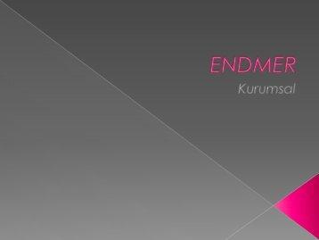 ENDMER kurumsal mali tablosuz