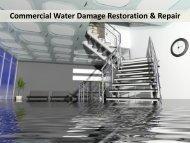 Commercial Water Damage Restoration & Repair Raleigh NC