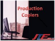 Production Copiers- Best for Office Use