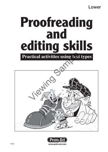 PR-0792IRE Proofreading and Editing - Lower