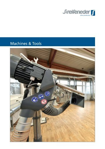 Streifeneder Catalogue Machines and Tools