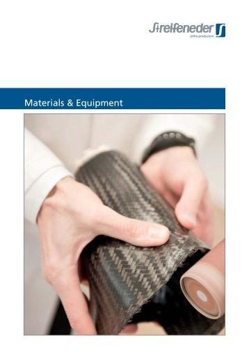 Streifeneder Catalogue Materials and Equipment