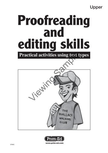 PR-0794IRE Proofreading and Editing - Upper
