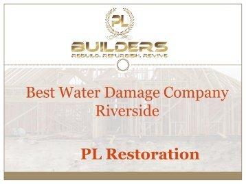Best Water Damage Company Riverside