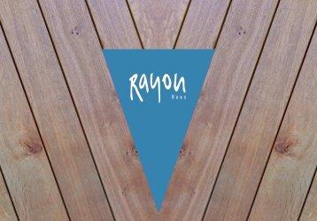Rayon Haus Getränkekarte