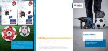 Brosura campanie fotbal Bosch