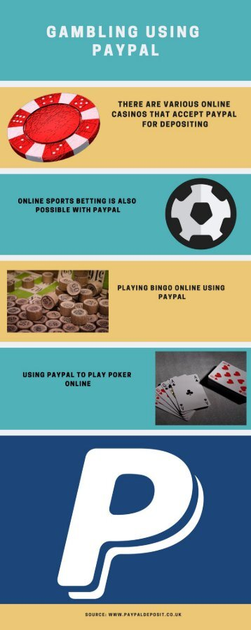 Gambling Sites That Use Paypal
