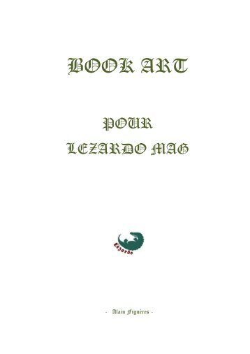 LéZARDO Book Art Série - 2018