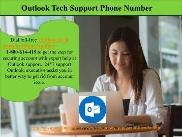One Platform | All Solution |Outlook Tech Support Phone Number 1-800-614-419