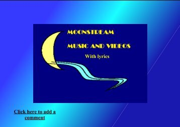 Moonstream´s Book of Songs