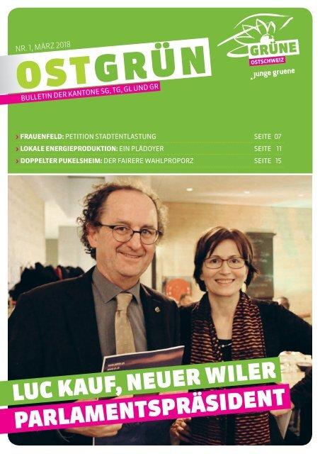 OSTGRÜN, Ausgabe 1/2018