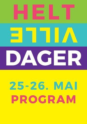 korrektur Helt Ville Dager 2018 Program