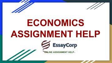 Best online economics assignment writers in Australia, Uk, and US