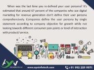 Rethinking Buyer Personas In An Era Of Digital Transformation | Bring Digital Marketing Persona