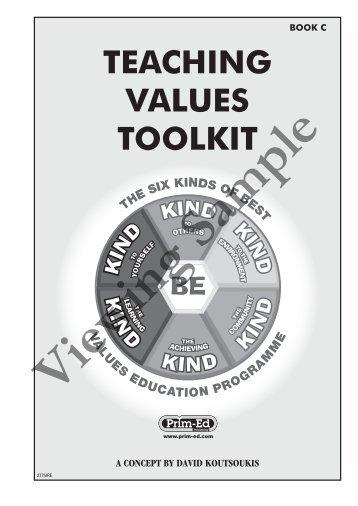 PR-2775IRE Teaching Values Toolkit - Book C