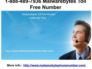 1-888-489-7936 Malwarebytes Toll Free Number