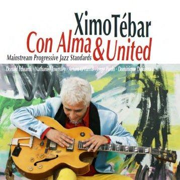 """Libreto Cd Ximo Tebar """"Con Alma & United"""" [Warner 2018]"""