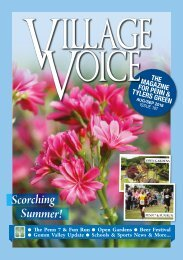 Village Voice Aug/Sept 2018 Issue 187