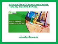Hire Professional End of Tenancy Cleaning Service