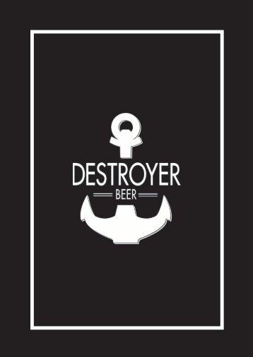 Catálogo Destroyer Beer
