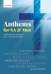 Anthems for SA Men