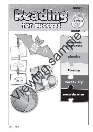 PR-6216IRE Reading For Success - Book 1