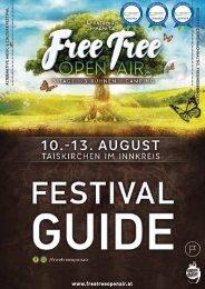FREE TREE PROGRAMMHEFT