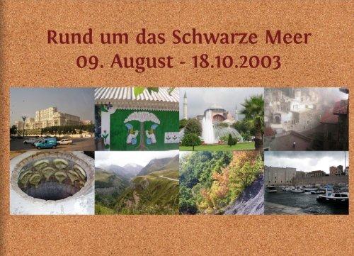 Fotobuch Rund Um Das Schwarze Meer2003
