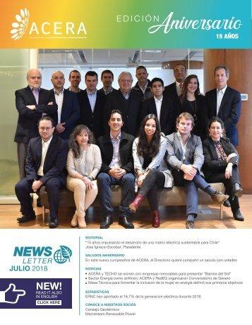 Newsletter ACERA - Julio 2018