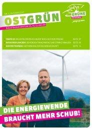 OSTGRÜN, Ausgabe 3/2017
