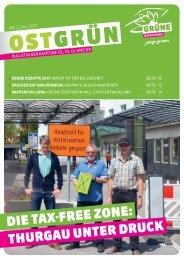 OSTGRÜN, Ausgabe 2/2017