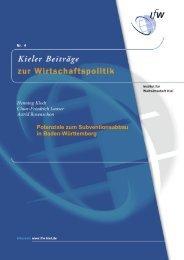 Potenziale zum Subventionsabbau in Baden-Württemberg