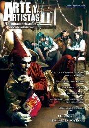 Revista Arte y Artistas, edición julio agosto 2018