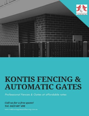 Top 5 Benefits of Installing Colorbond Fencing At Your Property