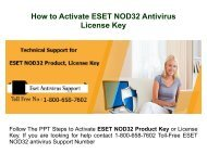 1-800-658-7602 Activate ESET Product or License Key