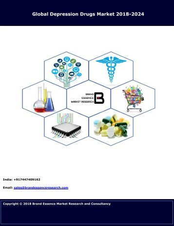 Depression Drugs Market Size, Share & Trends | Industry Analysis 2018-2024