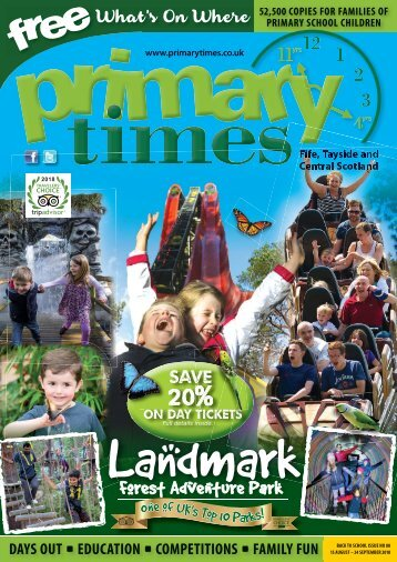 Primary Times Fife Back to School 2018