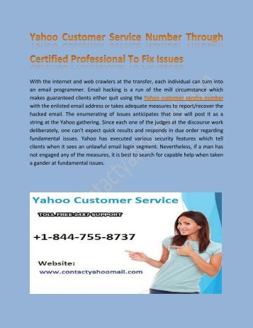 Yahoo Technical Support Number for Quick Online Help