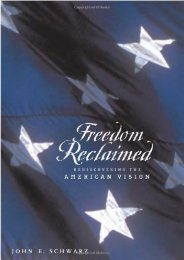 [Doc] Freedom Reclaimed: Rediscovering the American Vision Epub