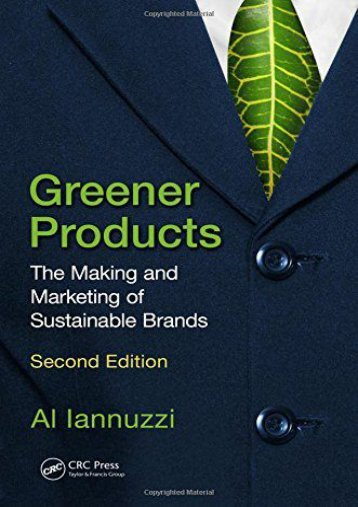 Audiobook Greener Products: The Making and Marketing of Sustainable Brands, Second Edition Ready