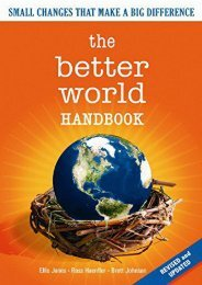 [Doc] The Better World Handbook: Small Changes That Make A Big Difference Ready