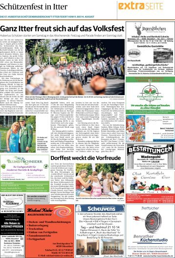 Schützenfest in Itter  -10.08.2018-