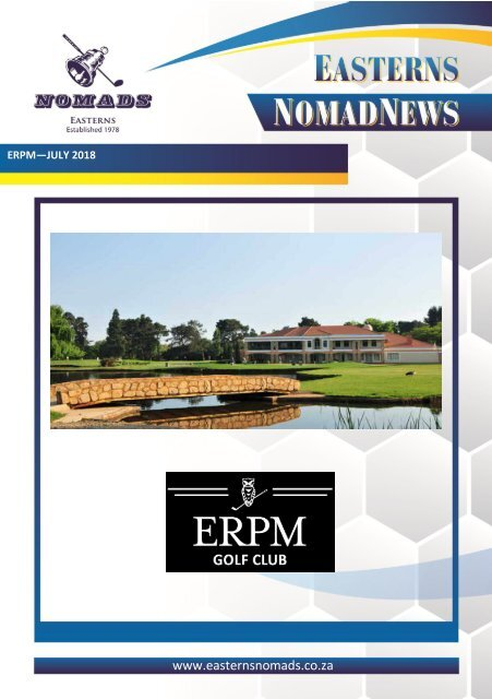 Nomads Magazine - ERPM - JULY 2018